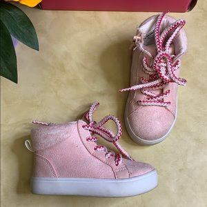 Carter's Toddler Girls' Hi-Top Sneakers
